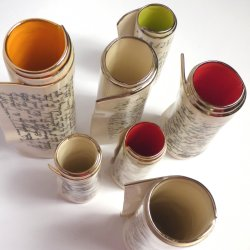 Diane Griffin - colourful ceramic vases and flower holders