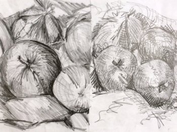 Learn sketching basics on our coysre with Clare Tebboth