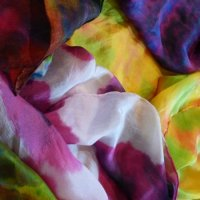 Shibori silk painting classes for beginners
