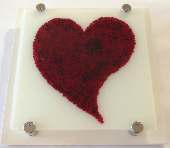 Fused Glass wall art by Vitreus Art