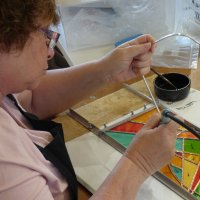 Stained Glass evening classes at Vitreus Art