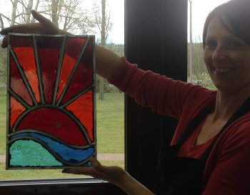 Stained glass course session 1 - designing for glass